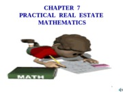7 Practical Mathmatics
