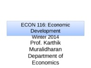 Econ 116 - Lecture 2 (Winter 2014) - Final