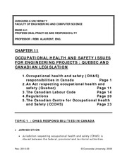 Notes_CHAPTER_11_-_OCCUPATIONAL_HEALTH_AND_SAFETY_2010-03_