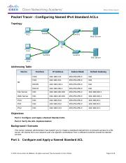 7.2.1.7  Packet Tracer - Configuring Named Standard IPv4 ACLs Instructions.docx