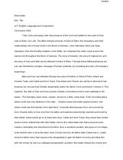 Analytical Essay East of Eden.docx