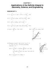 Calculus Early Transcendentals Solutions Manual Chapter 07