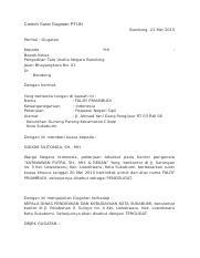 Surat Gugatan Tundocx Medan 21 Mei 2013 Perihal Gugatan