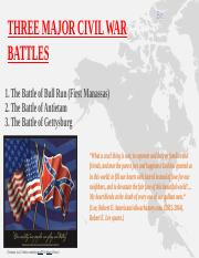 Three Major Civil War Battles.pptx
