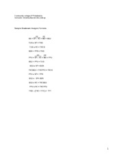 Breakeven Worksheet 1 2 2011