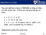 Lec02 - Machine model, Matlab introduction, and arrays.24