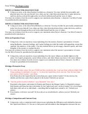 english writing and inquiry mitchell high school page 5 pages essay writing the hunger games