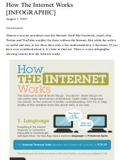 How The Internet Works [INFOGRAPHIC].pdf