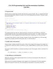 Programming Style and Documentation Guidelines.pdf