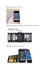 iphone generations