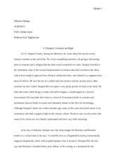 Global islam essay 4