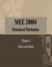 Chapter 5 - Stress and Strain_Part_1