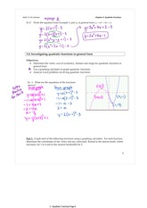 3.2 Investigating Quadratic Forms in General Form