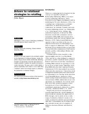Article 2. Drivers to relational strategies in retailing.pdf