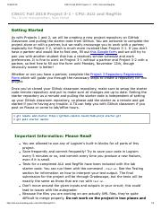 proj-3-1 pdf - CS61C Fall 2018 Project 3-1 CPU ALU and RegFile CS61C