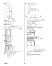Pre-Calculus Homework Solutions 70