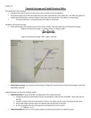 Chapter 16 - Financial Leverage and Capital Structure Policy.docx