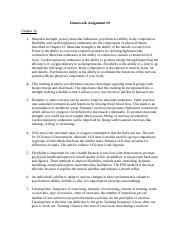 kinesiology opposing muscle group homework