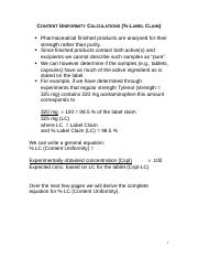 PharmCalc-Derivations_Lecture