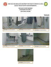 Installed Floor Marking - AP1 & AP2 May 01, 2017