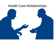 11-HealthCare Relationships W2011