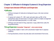 Chapter 3 Diffusion in Biological System