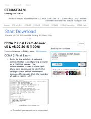 CCNA 2 Final Exam Answer v5 & v5.02 2015 (100%).pdf