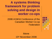 systems thinking 1