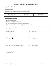 2 Finding Limits Analytically Student.pdf