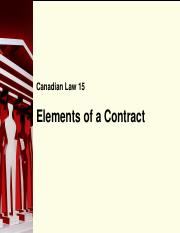 PPT 15 - Elements of a Contract.pdf