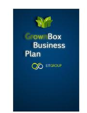 A8 Business Plan Sample