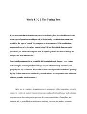 rev Week 4 DQ 2 - The Turing Test.doc