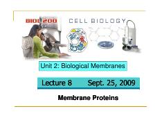 Lecture 8 - Membrane Proteins and Carbohydrates.pdf