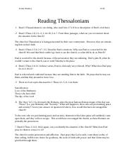 Thessalonians Worksheet.doc