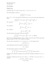 MAT 267- Exam 3 Practice Questions with answers