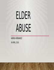 11 facts about elder abuse essay 11 facts about elder abuse welcome to dosomethingorg, a global movement of 6 million young people making positive change the 11 facts you want are below.