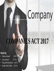 COMPANIES ACT 2017 Spring 2018.pptx