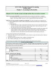 Lecture Notes 07 (13 pages) FMA6e Accounting for Receivables(1).doc