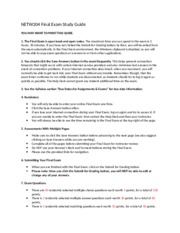 NETW204_Final Exam Study Guide