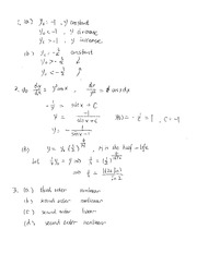 Math303 solutions of Review 1