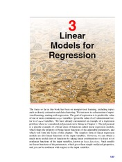 Linear Models for Regression