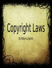 3 Copyright Laws