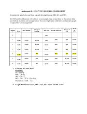 Assignment #8 - Monopoly Worksheet (Fall 2019).docx