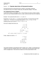 Worksheet 4.4