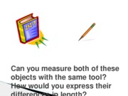Measuring Two Objects with the same tool PowerPoint