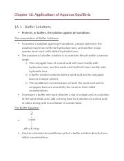 CHEM 1002-Chapter 16-Applications of Aqueous Equilibria.docx