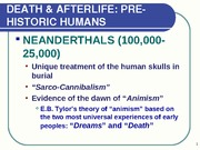 study guide Death _ Afterlife exam one
