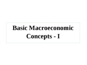 Basic+Macroeconomic+Concepts+-+I