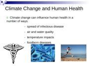 15 - Climate change and human health - UPDATED