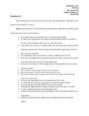 Summer assign.Questions